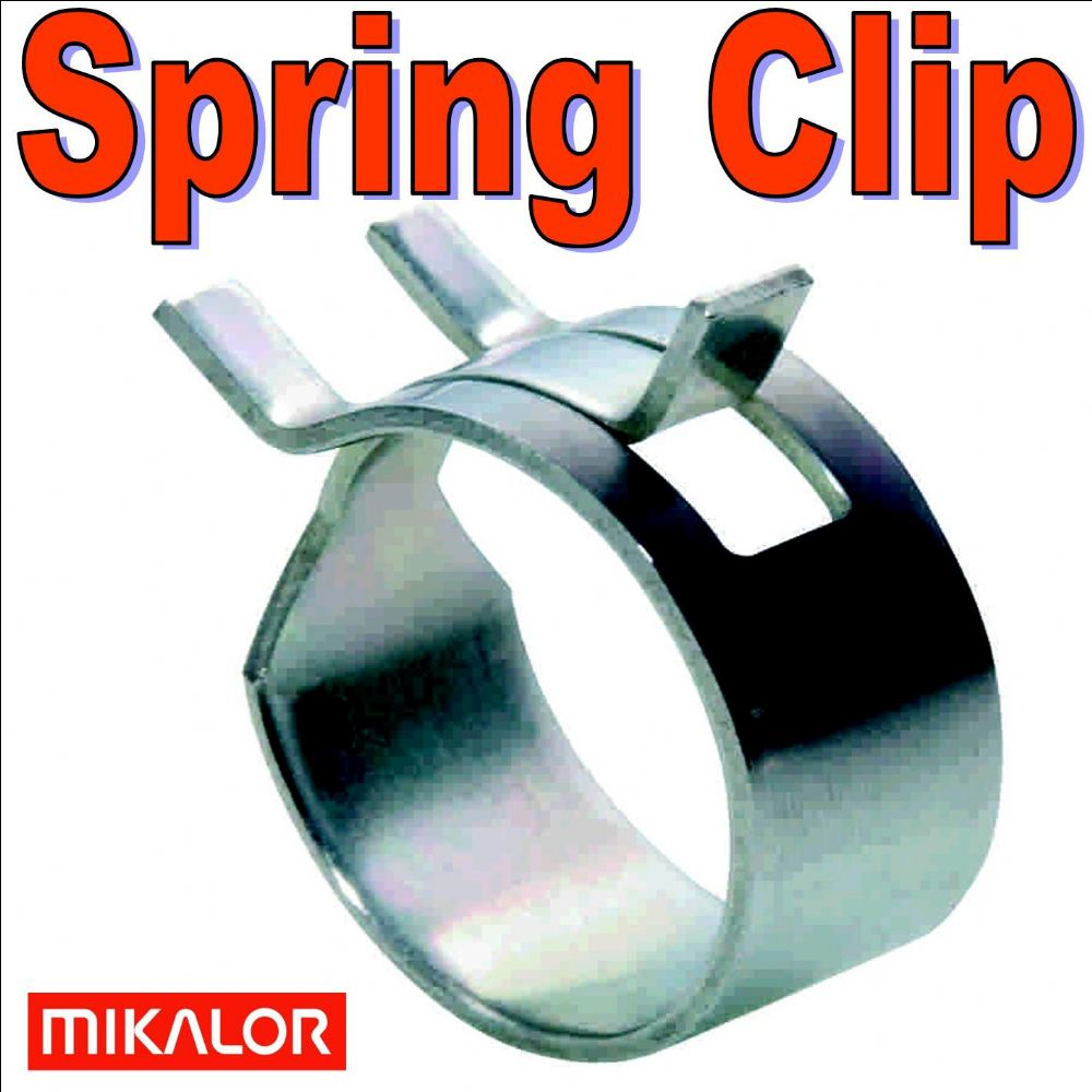 10mm Fuel Hose Spring Clip Constant Tension Mikalor Clamp